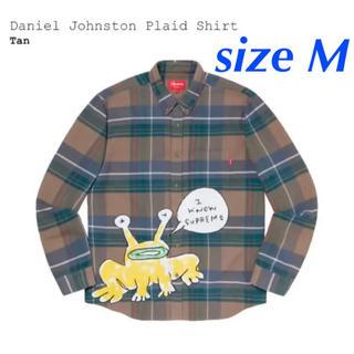 シュプリーム(Supreme)の【M】Supreme/Daniel Johnston Plaid Shirt(シャツ)