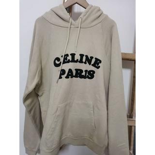 セリーヌ(celine)のCELINE ロゴ パーカーM(パーカー)