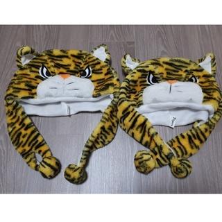 ハンシンタイガース(阪神タイガース)の阪神タイガース 虎のかぶり物(帽子)(応援グッズ)