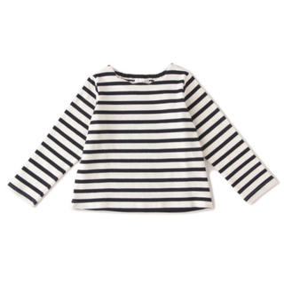 プティマイン(petit main)のビールーム 110 UVケア 衿スカラップTシャツ(Tシャツ/カットソー)