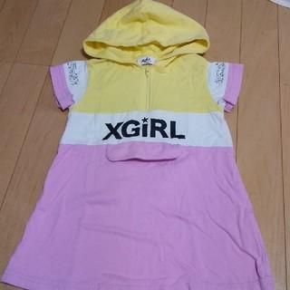 エックスガールステージス(X-girl Stages)のエックスガール ワンピース 100(ワンピース)