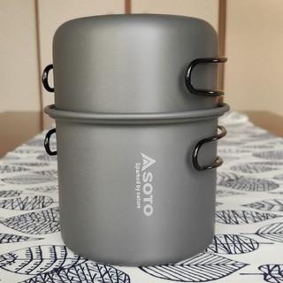 シンフジパートナー(新富士バーナー)のアルミクッカーセット (調理器具)