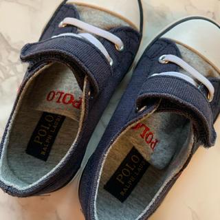 ポロラルフローレン(POLO RALPH LAUREN)のKIDS 靴 POLO ラルフローレン 13cm(スニーカー)
