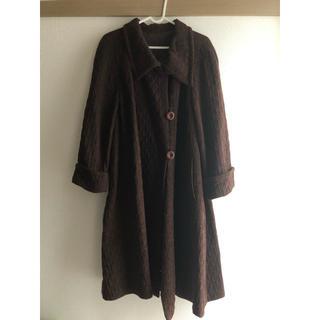 ロキエ(Lochie)のチョコレートカラー コート(ロングコート)