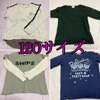 シップス(SHIPS)の長袖Tシャツ4枚(Tシャツ/カットソー)