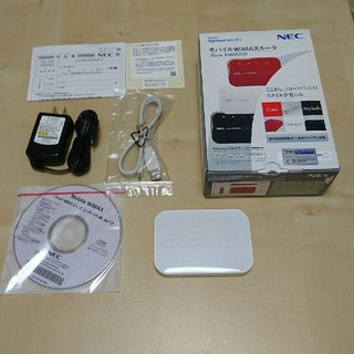 エヌイーシー(NEC)のモバイルWiMAXルーター(PC周辺機器)