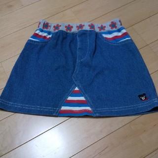 ダブルビー(DOUBLE.B)のミキハウス ダブルB スカート 100(スカート)