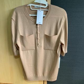 ラフシモンズ(RAF SIMONS)のCMMN SWDN ニットポロシャツ(シャツ)