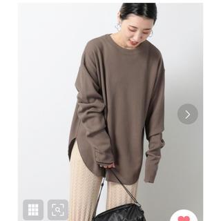 フリークスストア(FREAK'S STORE)のワッフルサーマルクルーネックTシャツ(ロンT)(Tシャツ(長袖/七分))