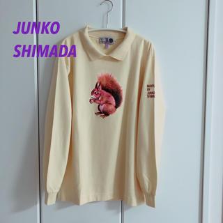 ジュンコシマダ(JUNKO SHIMADA)の【レア】JUNKO SHIMDA ゆったり ゆるかわ プルオーバー トレーナー(トレーナー/スウェット)