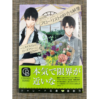 BL小説 フローリストの厄介な純愛  美品(ボーイズラブ(BL))