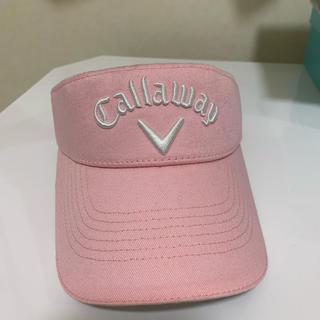 キャロウェイゴルフ(Callaway Golf)のキャロウェイ ピンクサンバイザー(その他)