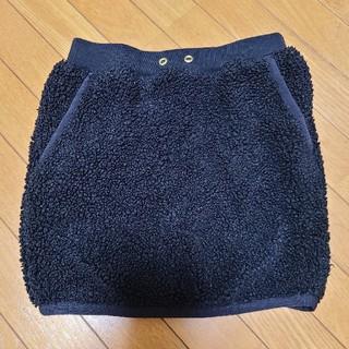 ドアーズ(DOORS / URBAN RESEARCH)の120黒ボアスカート(スカート)