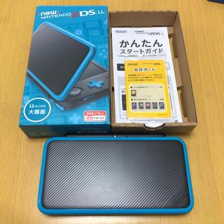 ニンテンドー2DS(ニンテンドー2DS)のニンテンドー2DSLL ブラック×ターコイズ(携帯用ゲーム機本体)