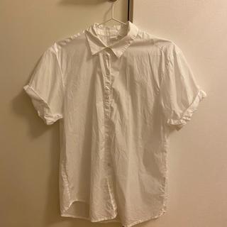 ギャップ(GAP)のGAP 白シャツ 半袖(シャツ/ブラウス(半袖/袖なし))