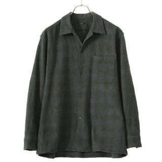 コモリ(COMOLI)の【Fxu様】専用新品20aw comoli ウールチェックシャツ グリーン(シャツ)