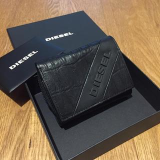 DIESEL - 【新品】DIESEL ディーゼル メンズ 牛革 折り財布 革財布 プレゼントに◎