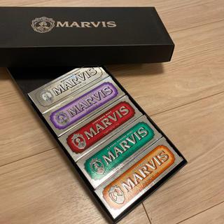 マービス(MARVIS)の新品未使用品 MARVIS 歯磨き粉 25ml 5個セット(歯磨き粉)