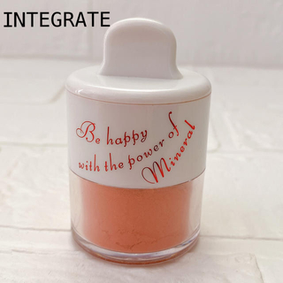 インテグレート(INTEGRATE)のINTEGRATE インテグレート ミネラルパフチーク OR203 ほお紅(チーク)