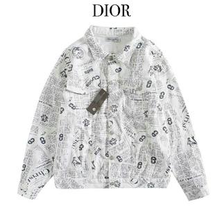 ディオール(Dior)のDIOR デニムジャケットをプリントする(Gジャン/デニムジャケット)