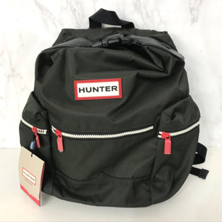 ハンター(HUNTER)のHUNTER ハンター バックパック リュック TOPCLIP オリーブ 新品(リュック/バックパック)
