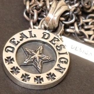 ディールデザイン(DEAL DESIGN)のDEAL DESIGN ファットコインスターペンダント ディールデザイン(ネックレス)
