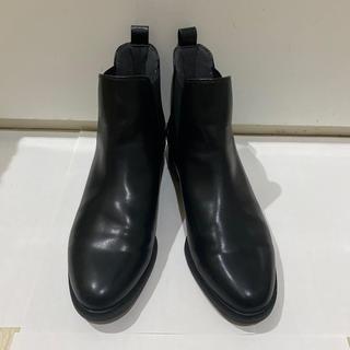 ユニクロ(UNIQLO)の【UNIQLO】サイドゴアショートブーツ(ブーツ)