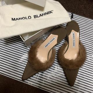 マノロブラニク(MANOLO BLAHNIK)のMANOLO BLAHNIK ミュール(ミュール)