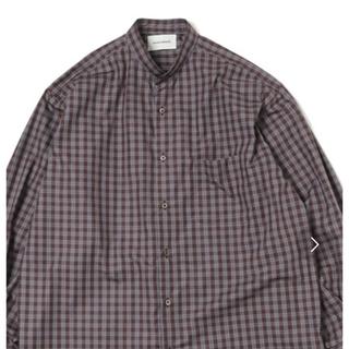 マーカウェア(MARKAWEAR)のコンフォートフィット バンドカラーシャツ(シャツ)