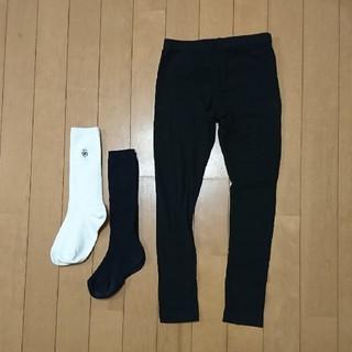 ニッセン(ニッセン)の【専用】 レギンス&紺色靴下 セット(下着)