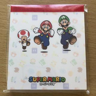 ニンテンドウ(任天堂)のスーパーマリオ 付箋 3Dコレクション switch(ノート/メモ帳/ふせん)