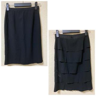 アドーア(ADORE)の【シンクロッシングズ】美ライン タイトスカート size36/黒(ひざ丈スカート)