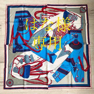 エルメス(Hermes)のHERMES  カレ スカーフ 90 ズアヴとドラゴン(スカーフ)