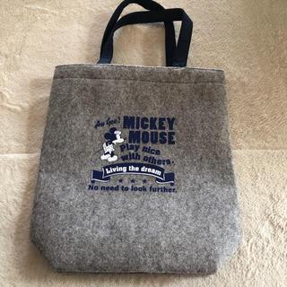 ミッキーマウス(ミッキーマウス)のミッキー フェルトトートバッグ 非売品(トートバッグ)