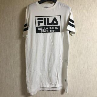 フィラ(FILA)のFILA フィラ ロングTシャツ(Tシャツ(半袖/袖なし))