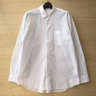 コモリ(COMOLI)の18aw comoli コモリシャツ ホワイト サイズ2(シャツ)