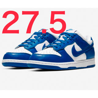 ナイキ(NIKE)のNIKE DUNK LOW SP VARSITY ROYAL 27.5(スニーカー)