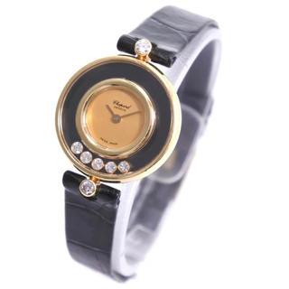 ショパール(Chopard)のショパール ハッピーダイヤ 7Pダイヤ 中古品(腕時計)