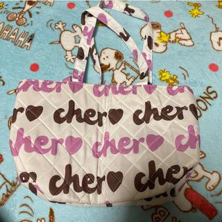 シェル(Cher)のcher バッグ(トートバッグ)