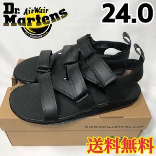 Dr.Martens - 【新品】ドクターマーチン 超軽量 スポーツ サンダル ブラック 24.0