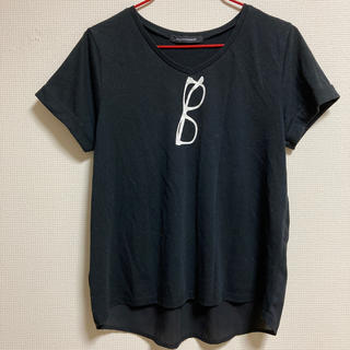 PAGEBOY - 異素材デザインTシャツ
