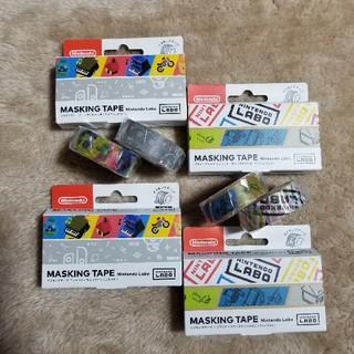 ニンテンドウ(任天堂)のNintendo ラボ   マスキングテープセット(テープ/マスキングテープ)