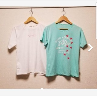 フィラ(FILA)のフィラ+パーソンズ トレーニングTシャツ2枚セット☆(Tシャツ(半袖/袖なし))
