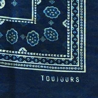 ジャーナルスタンダード(JOURNAL STANDARD)のtoujours 大判バンダナスカーフ トゥジュー(ストール/パシュミナ)