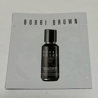 ボビイブラウン(BOBBI BROWN)のボビイブラウン Bobby Brown ファンデーション 試供品 サンプル(サンプル/トライアルキット)