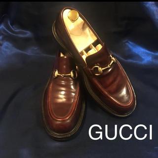 Gucci - GUCCI本革シューズ