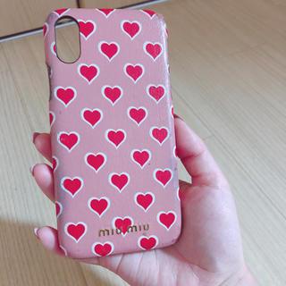ミュウミュウ(miumiu)のミュウミュウiPhoneケース(iPhoneケース)