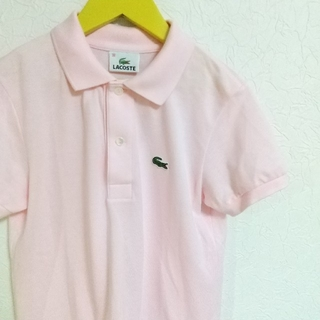 LACOSTE - LACOSTE ポロシャツ ピンク 38 GOLF