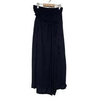 ヨウジヤマモト(Yohji Yamamoto)の  ヨウジヤマモト ドッキングデザインロングスカート 【1501】(ロングスカート)