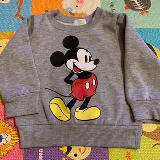 Disney - ディズニー ミッキー 90サイズ トレーナー